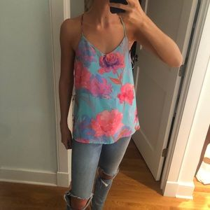 Bright Everly T-back Tank
